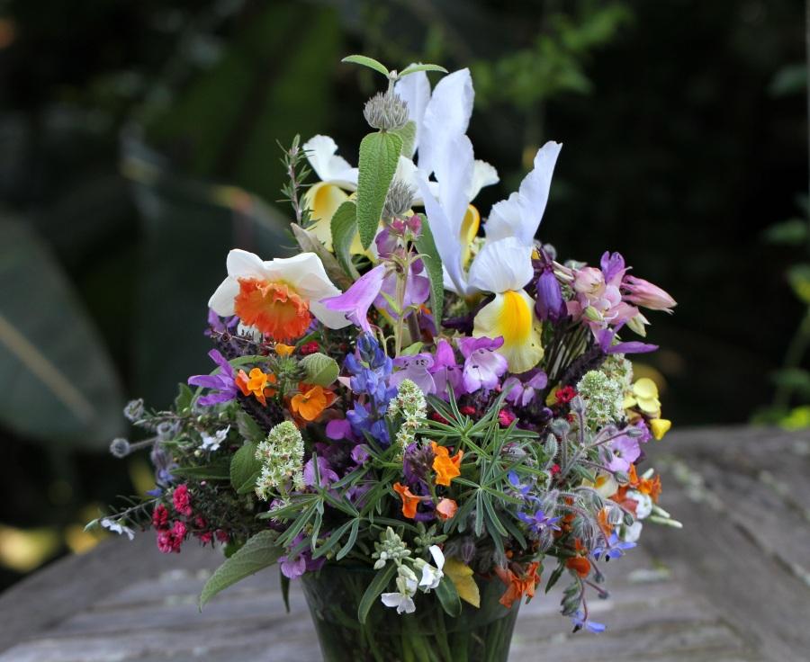 Spring cut flowers