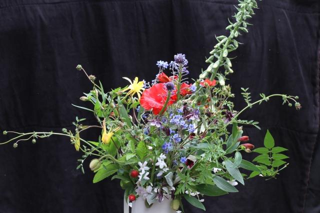 Cut flowers wild flowers