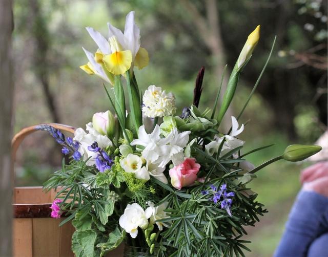 cut flowers memorial