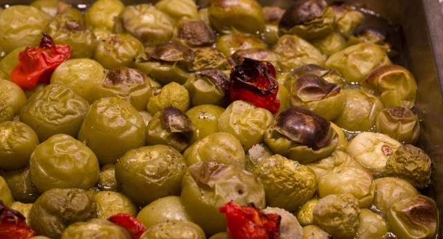 tomatillos roasted
